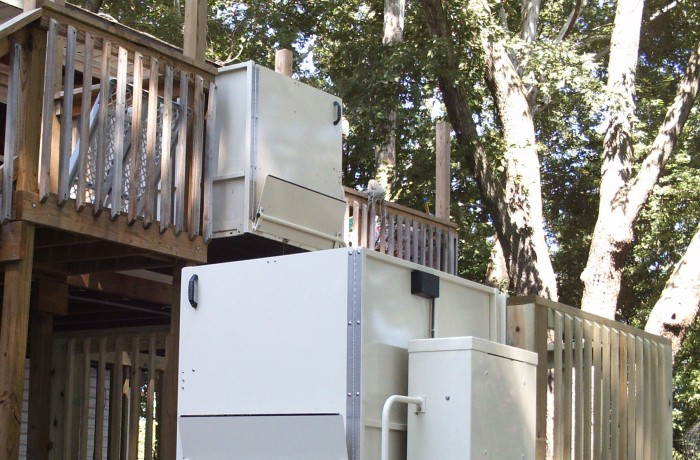 Mac's Vertical Home Lift PL-72 w/ ADA Package #macshomelift