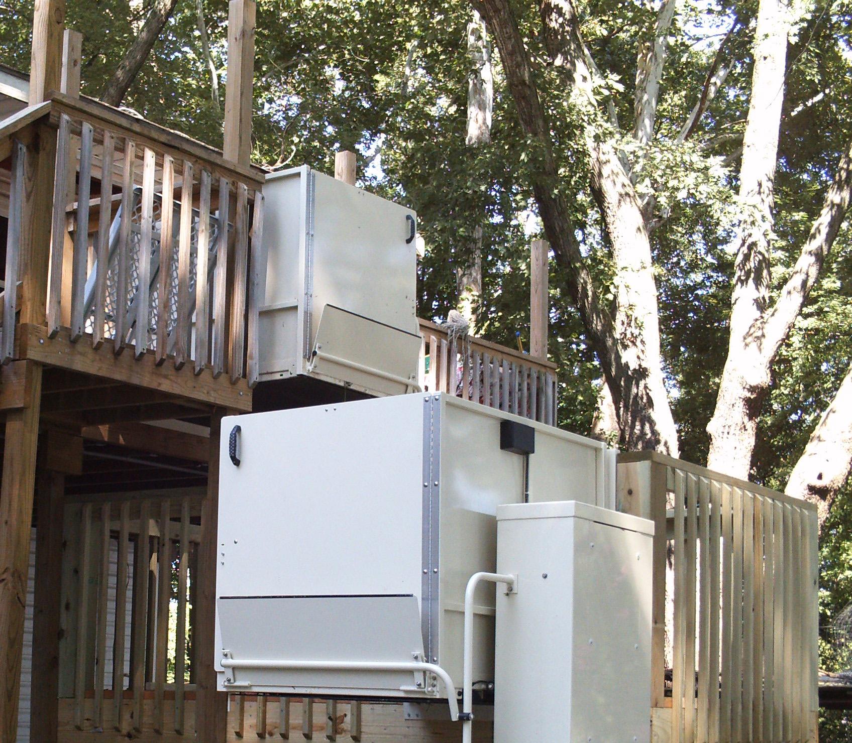 Macu0027s Vertical Home Lift PL 72 W/ ADA Package #macshomelift