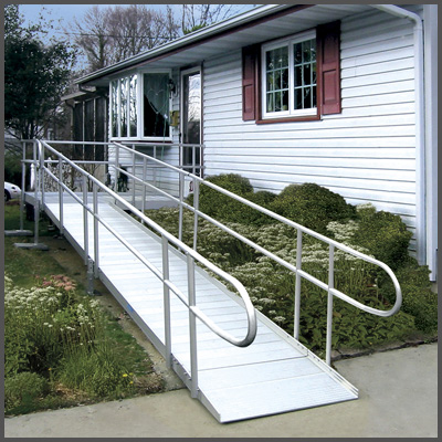 Ada wheelchair ramp code ada guidelines ada compliance for Modular homes handicapped accessible