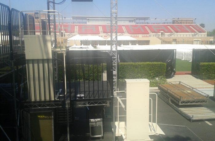 Mac's Event Rental PL-50 at Chapman University