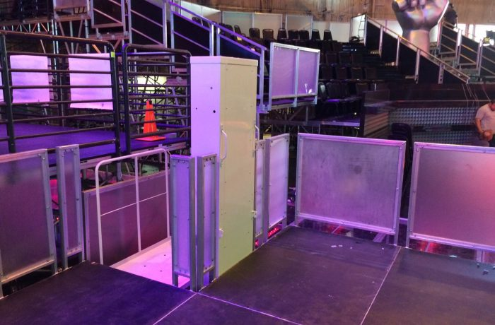 Mac's Event Rental PL-50 at The Voice