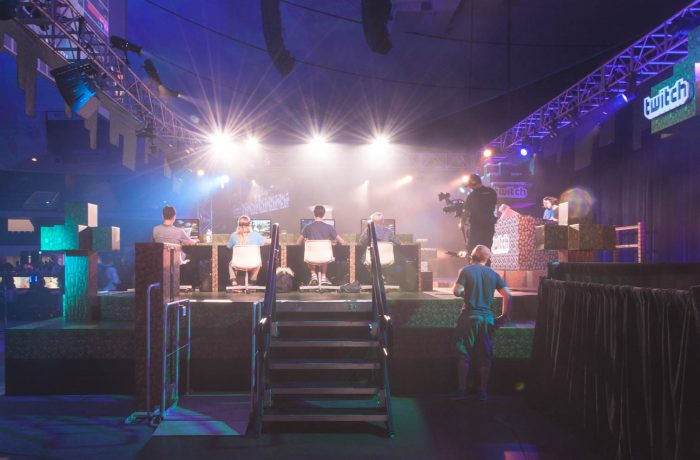 Mac's PL-50 Event Rental at Minecon 2016 in Anaheim, CA